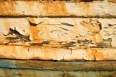 Rotting ship planks — Stock Photo