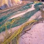Fishing nets for repair — Stock Photo #67281855