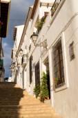 Altea old town street — Stock Photo