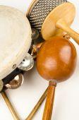 Small percussion instruments — Stock Photo