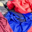 Clothes on a market stall — Stock Photo #69667001