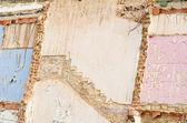 Demolished wall background — Stock Photo