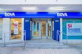BBVA branch — Stock Photo