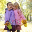 Little girls in park — Stock Photo #57203477