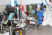 Manufacture meat production — Stockfoto
