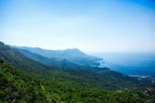 Landscape of Montenegro coast — Stock Photo