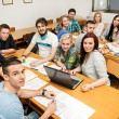 Students in a classroom — Stock Photo #52700465