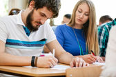 Students having test  — Stock Photo