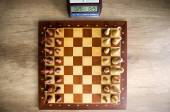Chessboard with chess  — Stock Photo