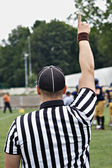 Rugby referee — Stockfoto