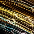 Abstract light lines on black — Stock Photo #61049315
