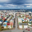 View of Reykjavik, Iceland, from Hallgrimskirkja church — Stock Photo #61049467