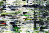 Abstract painting with grungy surface — Photo