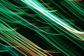 Colorful light lines background — Stock Photo