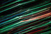 Abstract green lines background — Stock Photo