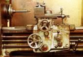 Old rusty machine — Stock Photo