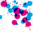 Colorful CMYK ink drops — Stock Photo #68253263