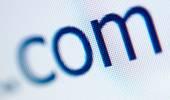 Internet domain extension com — Stock Photo