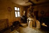 Old mill interior — Stock Photo