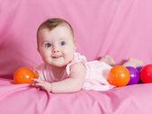 Beautiful baby girl — Stock Photo