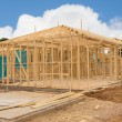 Construction site of new home — Stock Photo #77995256