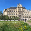 Постер, плакат: Saint Eustache church from the Nelson Mandela garden Paris Fra