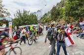 Audience of Le Tour de France — Stock Photo