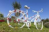 Prickiga vintage cykel — Stockfoto