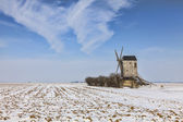 Winter Countryside Landscape — Stock Photo