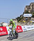 The Cyclist Brian Vandborg — Stock Photo