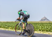 The Cyclist Thomas Voeckler — Stock Photo