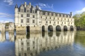 Schloss chenonceau — Stockfoto