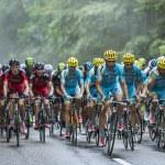 Astana Team and BMC Team — Stock Photo #55957415
