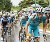 The Cyclist Lieuwe Westra — Stock Photo