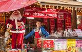 Red Hot Wine Kiosk — Stock Photo
