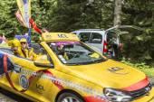 LCL Car During Publicity Caravan — Stock Photo