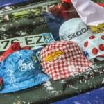Promotional Caps During Le Tour de France — Stock Photo #57728015