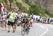 Kids on the Road of Le Tour de France — Stock Photo