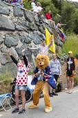 Funny Supporters of Le Tour de France — Foto de Stock