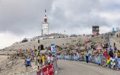 Mont Ventoux- Tour de France 2013 — Stock Photo