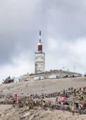 Mont Ventoux- Tour de France 2013 — Stock Photo