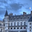 Amboise Castle with The Moon Above — Stock Photo #58595797