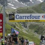 The Cyclist Geraint Thomason Col du Lautaret - Tour de France 2014 — Stock Photo #60580515