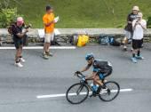 The Cyclist Vasili Kiryienka — Stock Photo