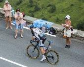 Tour de France Action — Stock Photo