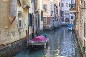 Canal veneziano — Fotografia Stock
