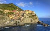 Manarola Cinque Terre, Italy — Fotografia Stock