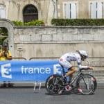 The Cyclist Arnaud Gerard — Stock Photo #67311929