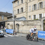 The Cyclist Arnaud Gerard — Stock Photo #67311931