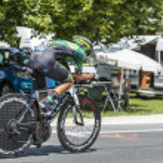 The Cyclist Bryan Coquard — Stock Photo #67608715